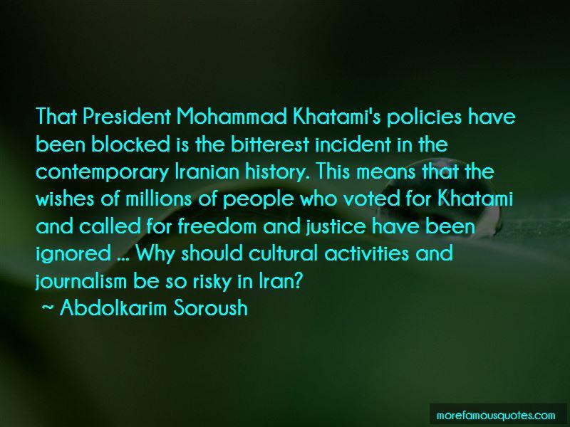 Khatami Quotes
