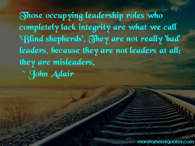 Leadership Roles Quotes