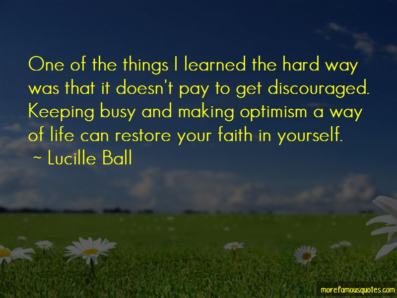 Learned Optimism Quotes