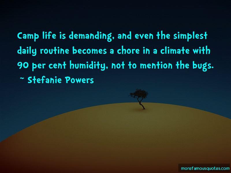 Life Is Demanding Quotes