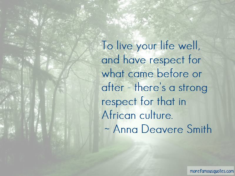 Live Your Life Well Quotes