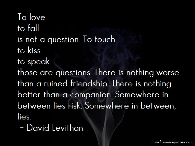 Love At Risk Quotes