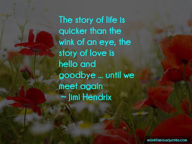 Love Until We Meet Again Quotes