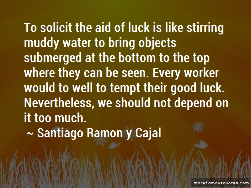 Luck Depend Quotes Pictures 2