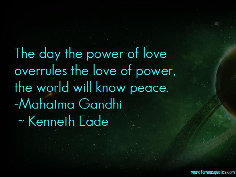 Mahatma Gandhi Peace Quotes