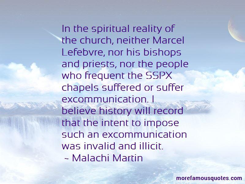 Marcel Lefebvre Quotes