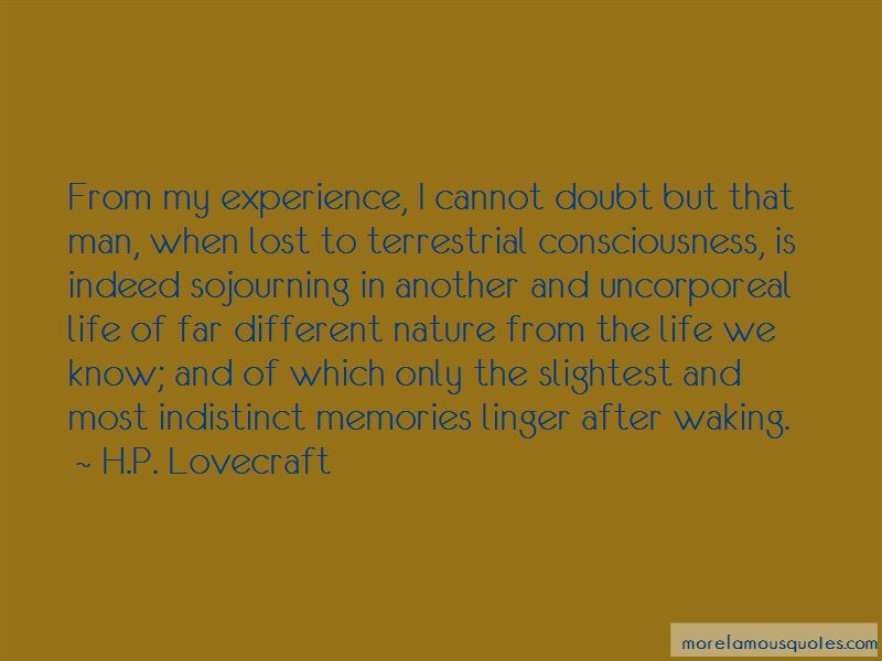 Memories Linger Quotes