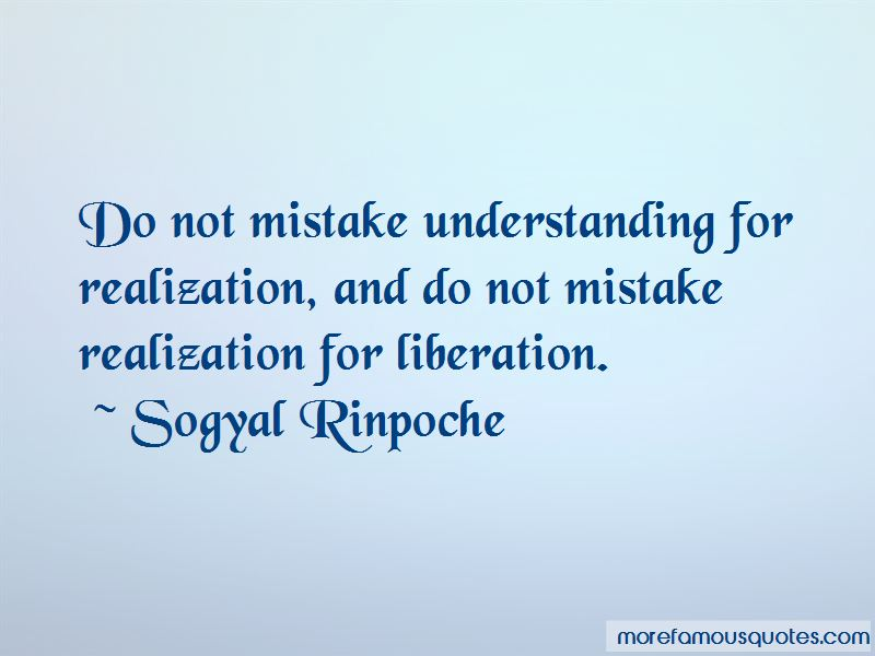 Mistake Realization Quotes