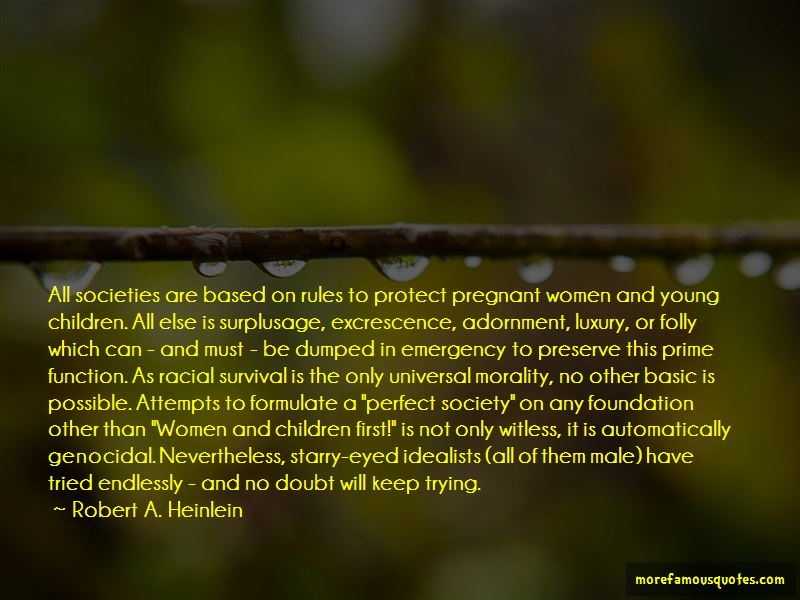Morality And Survival Quotes