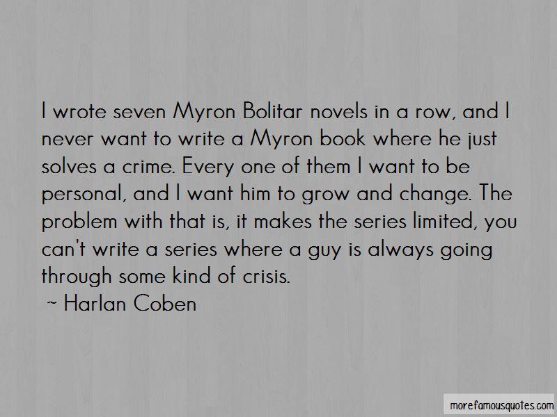 Myron Bolitar Quotes