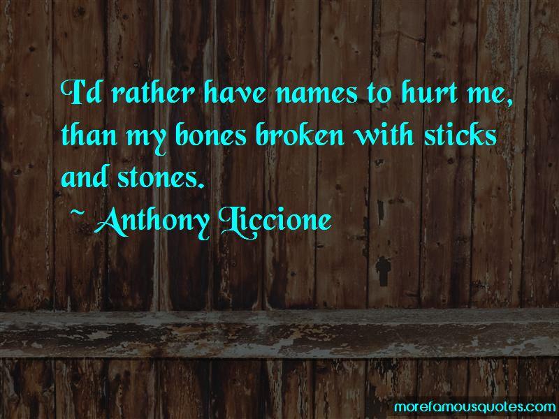 Names Hurt Quotes