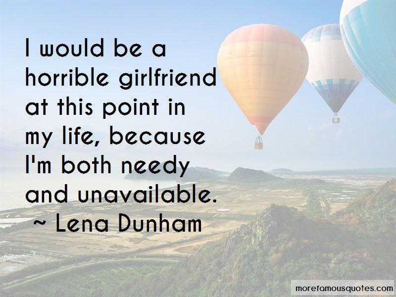 Needy Girlfriend Quotes