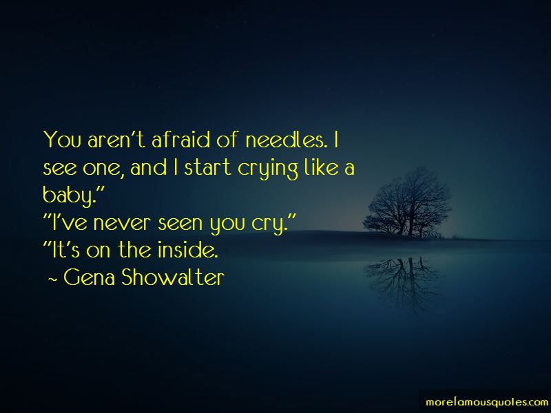 Never Be Afraid To Cry Quotes Pictures 3