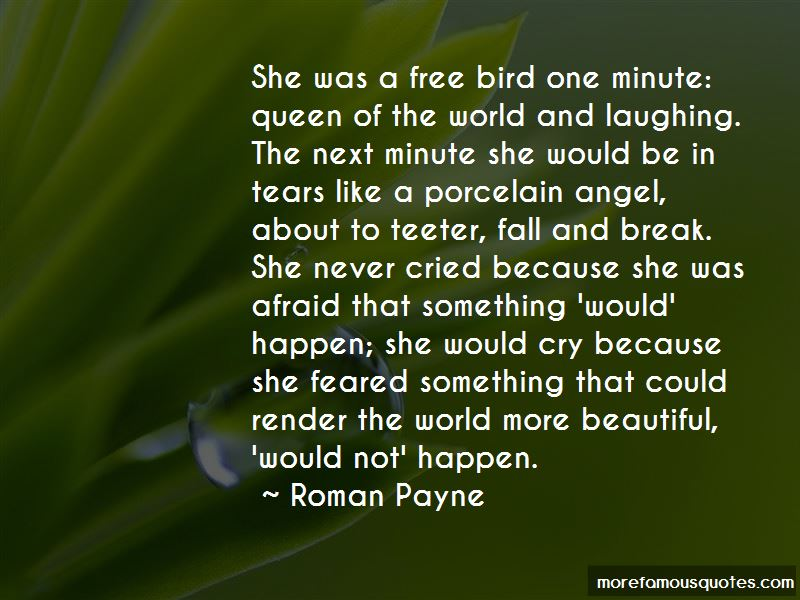 Never Be Afraid To Cry Quotes