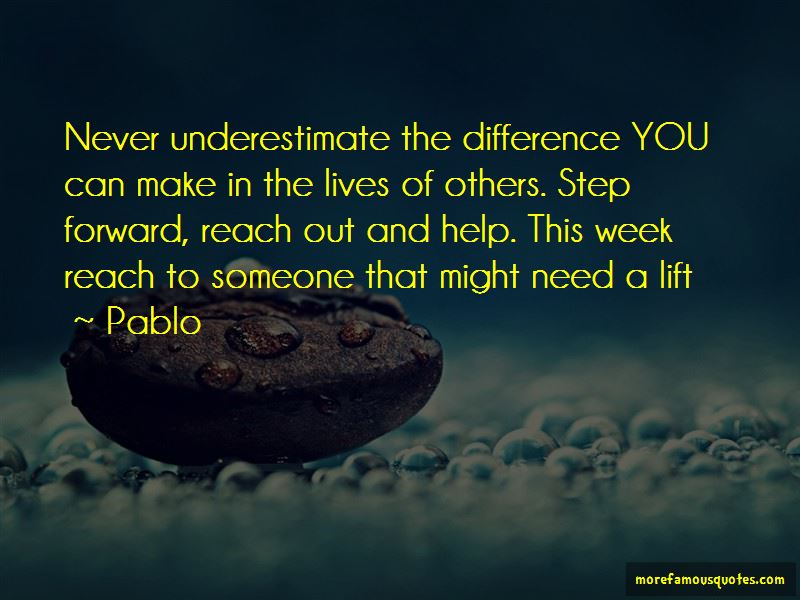 Never Underestimate Others Quotes