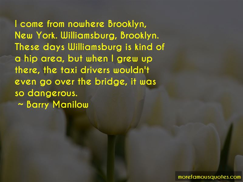 New York Brooklyn Bridge Quotes