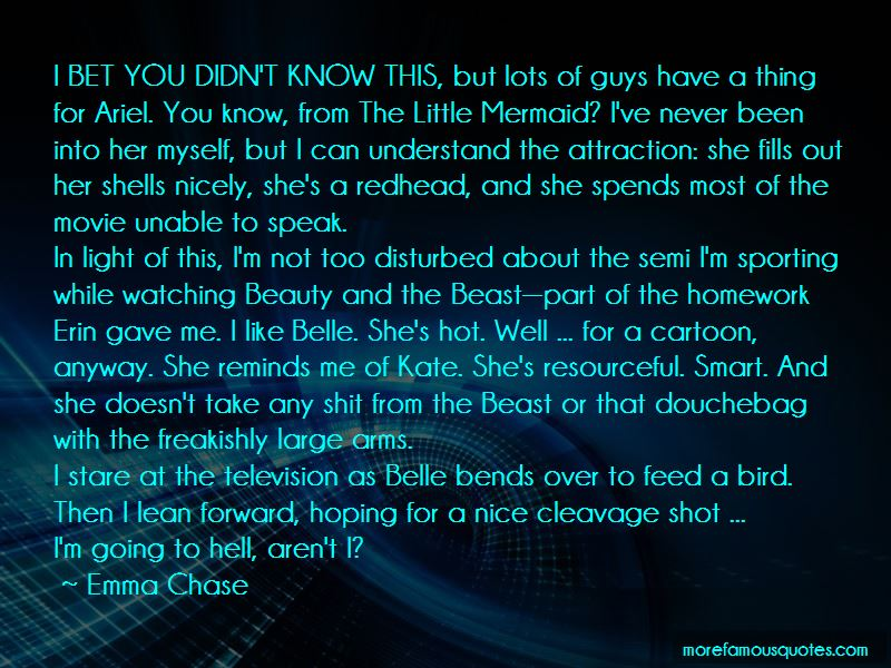 Nice Cleavage Quotes