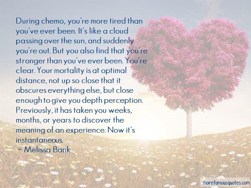 No More Chemo Quotes