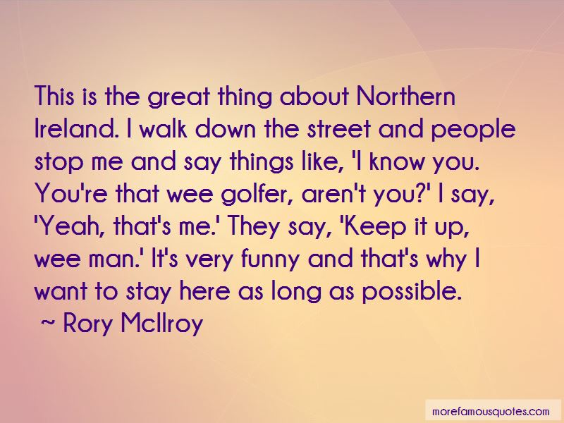 Northern Ireland Funny Quotes