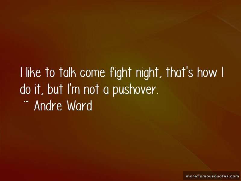 Not A Pushover Quotes Pictures 3
