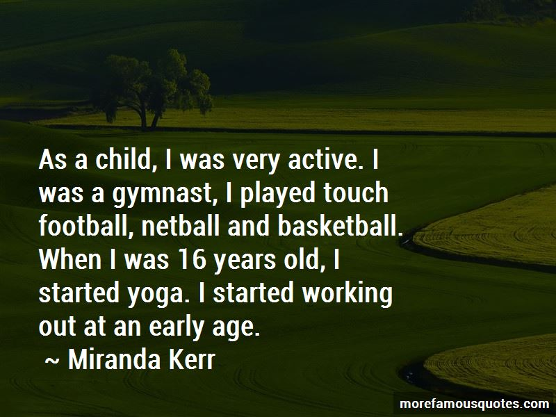 Old Gymnast Quotes