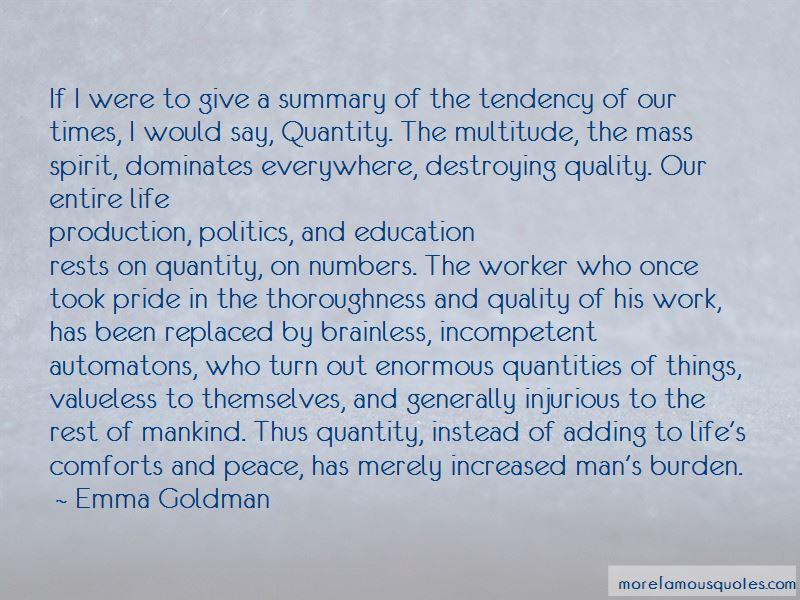 Peace Summary Quotes