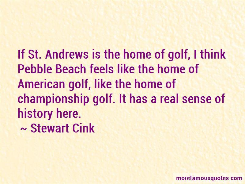 Pebble Beach Golf Quotes