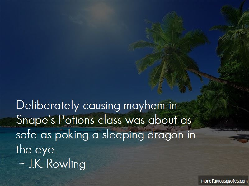 Potions Class Quotes