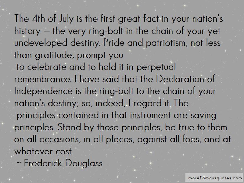 Pride And Patriotism Quotes