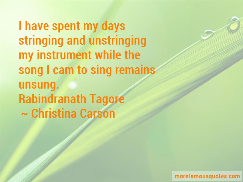 R N Tagore Quotes