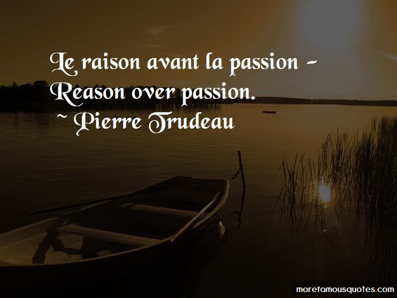 Reason Over Passion Quotes