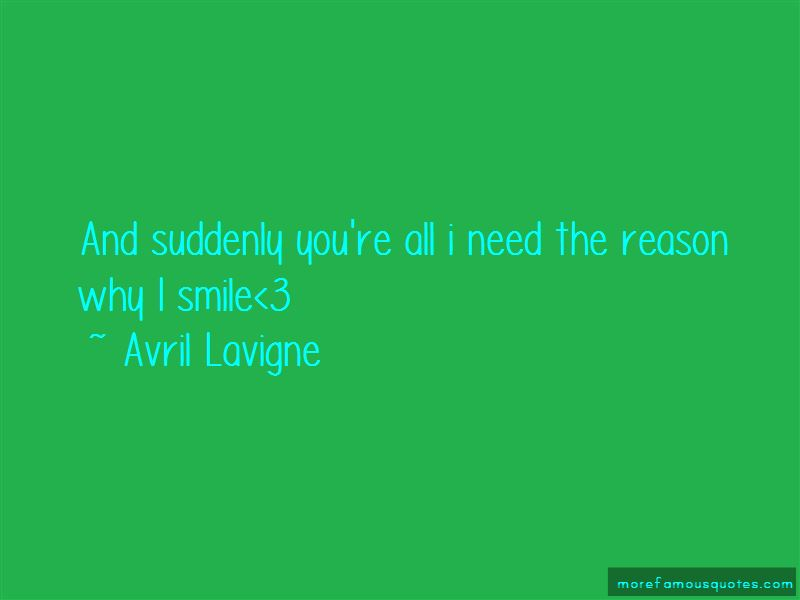 Reason Why I Smile Quotes