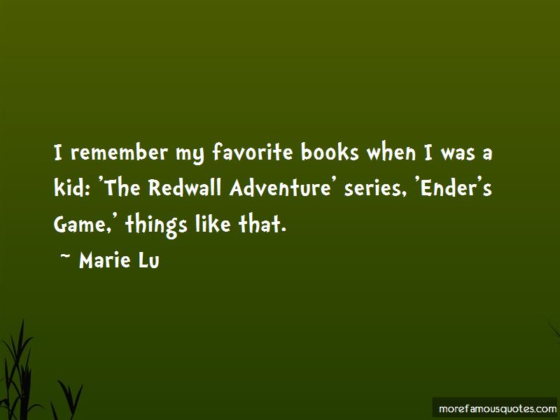 Redwall Tv Series Quotes