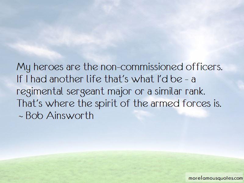 Regimental Sergeant Major Quotes