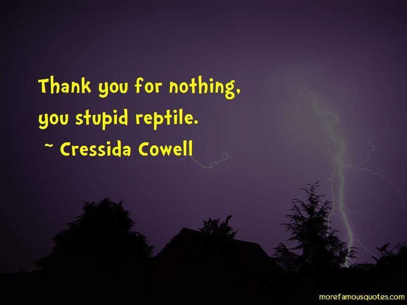 Reptile Quotes