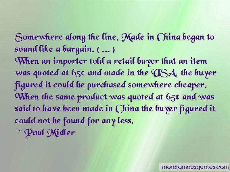 Retail Buyer Quotes