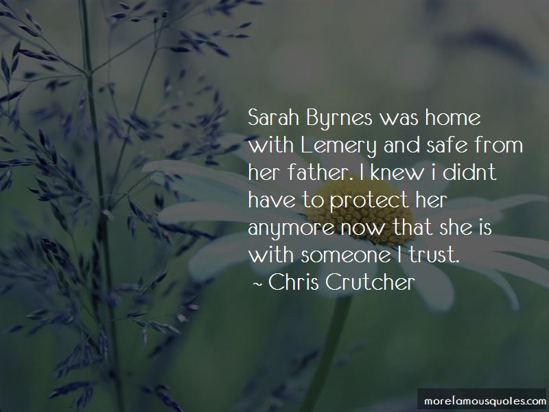 Sarah Byrnes Quotes