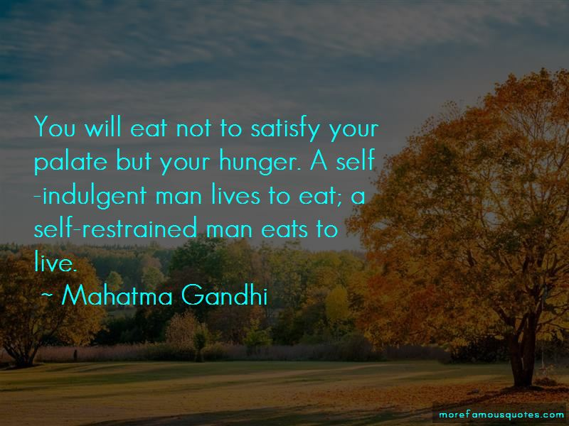 Satisfy Your Man Quotes