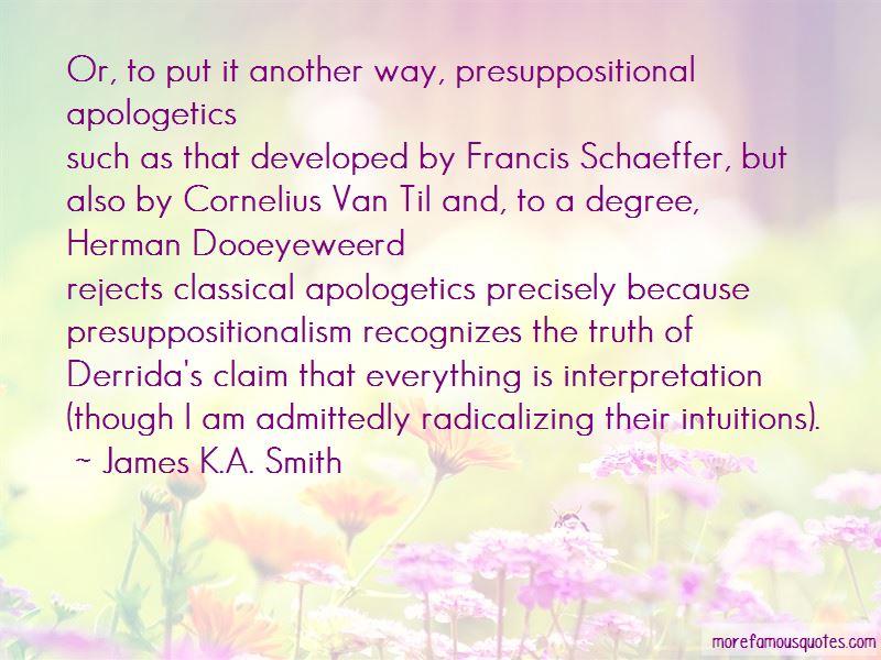 Schaeffer Quotes