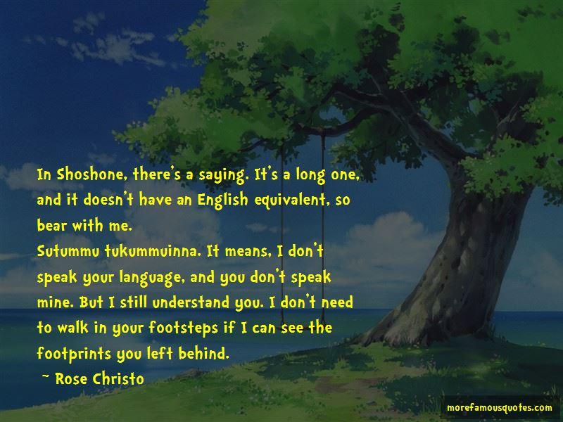 Shoshone Quotes