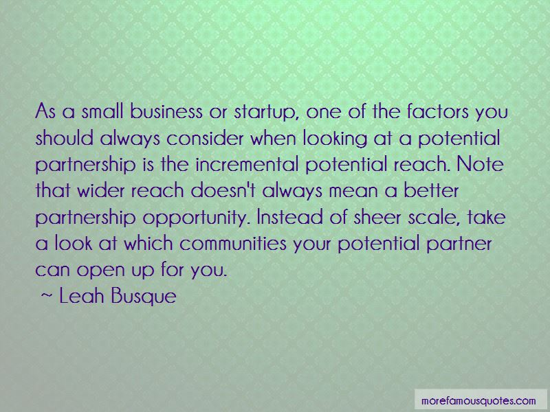 Small Business Startup Quotes