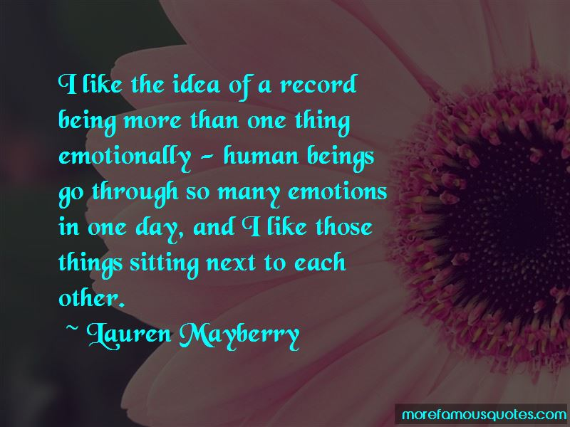 So Many Emotions Quotes