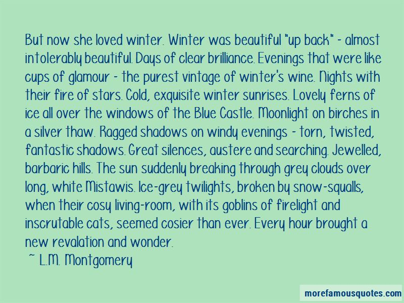 So Over Winter Quotes