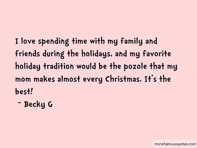 Spending Christmas With Friends Quotes