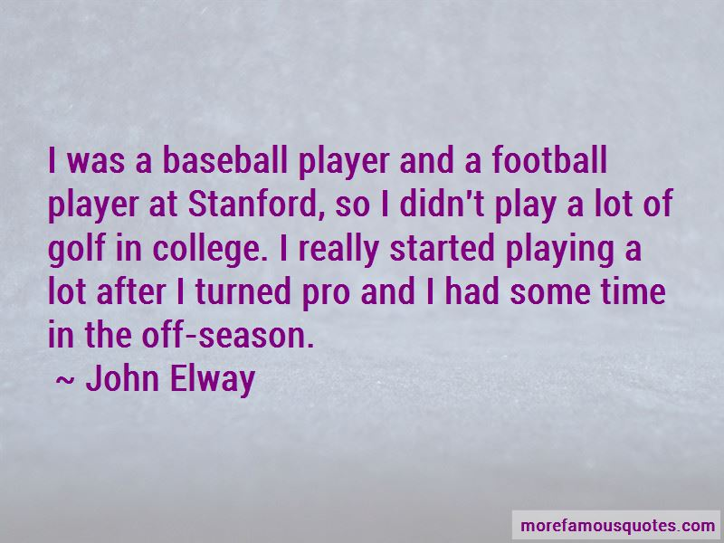 Stanford Football Quotes