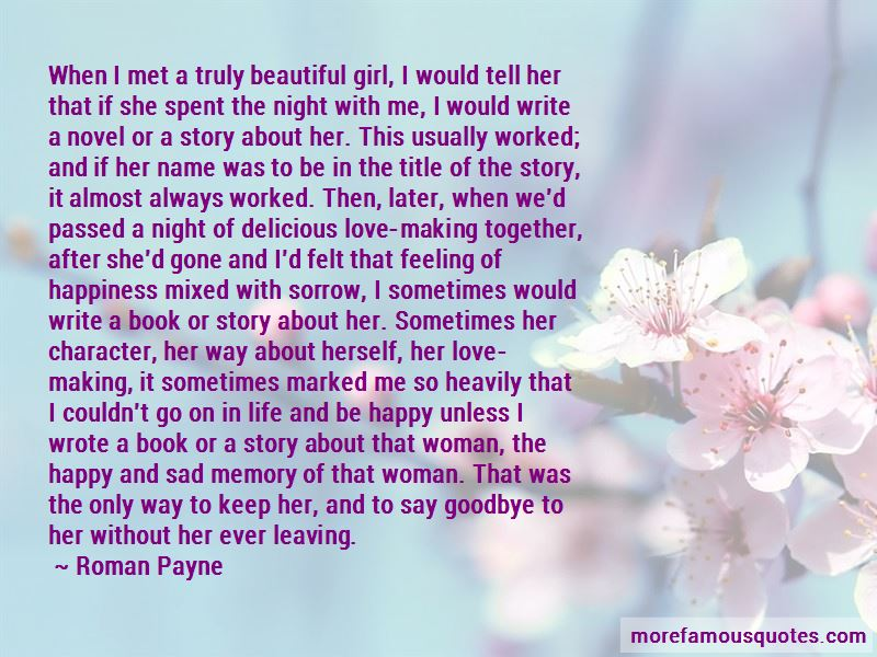 Story Of Beautiful Girl Quotes Pictures 3