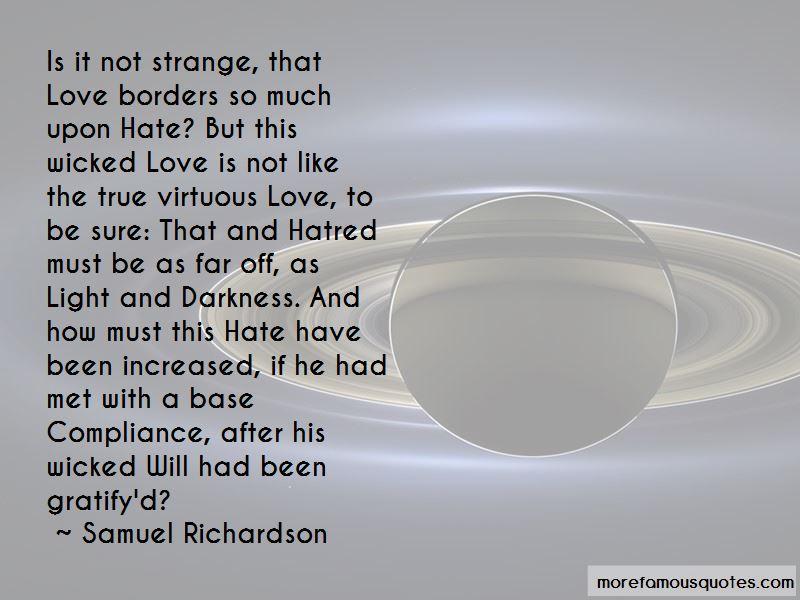 Strange But True Love Quotes