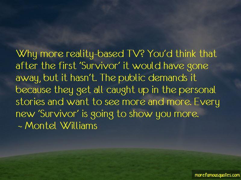 Survivor Reality Show Quotes