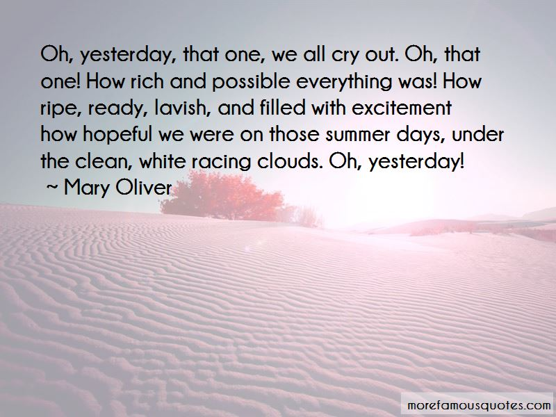 Those Summer Days Quotes