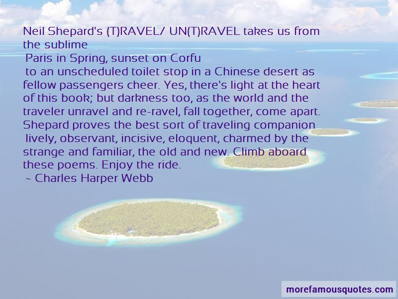 Traveling Light Book Quotes